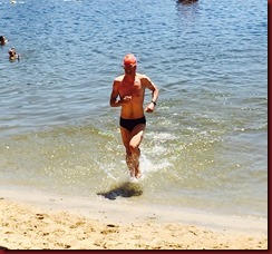 LOP Lake Swim 150705 finish