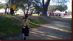 160227 Anna finish sprint